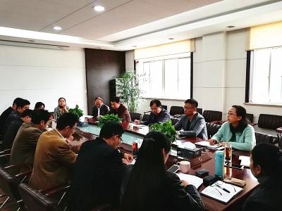 局领导出席市政质监站办公会并开展廉政谈心活动