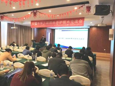 组织绿化业务培训  加强养护技术交流