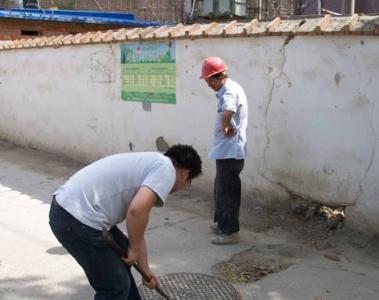 加大施工工地监管力度 保障排水设施正常运行