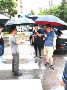 顶风冒雨,无锡排水管理处奋战在防汛抗台第一线