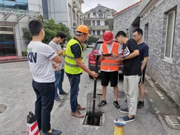 市政检测中心组织管道检测百日劳动竞赛