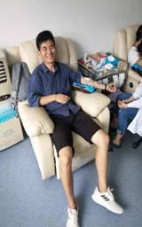 市政质监站组织职工积极参加义务献血