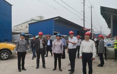 市政府副市长蒋敏率队检查城市桥梁安全生产工作